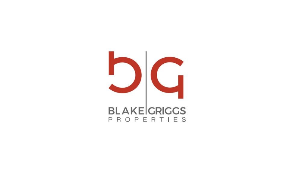 Blake Griggs - Logo over White Background