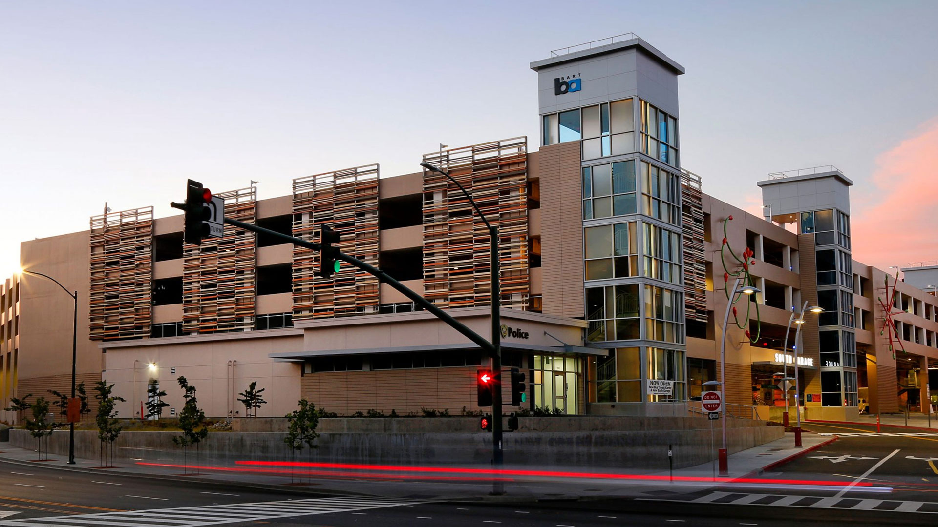 Blake Griggs Projects - Walnut Creek Transit Village Parking Garage